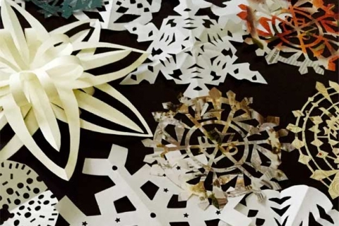 Zoltun Design Snowflake-making contest