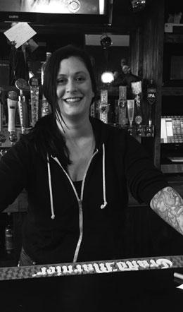 Jennifer, the waitress at the Smiling Moose