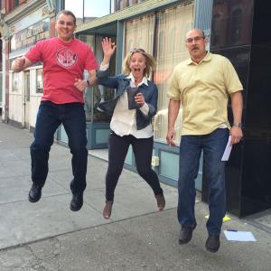 Scavenger team jumps high