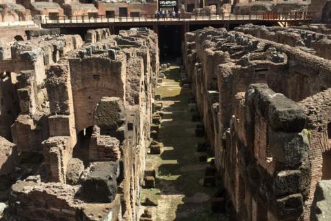 Roman Colosseum Piazza del Colosseo Rome Italy