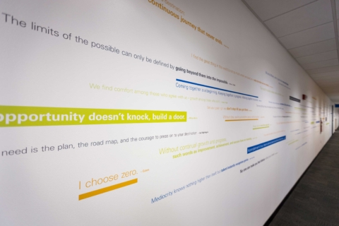 Eaton Cherrington Quote Wall